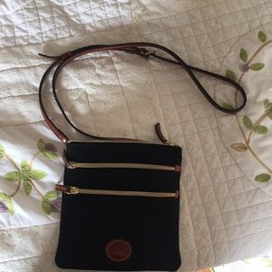Dooney and Burke cross body bag